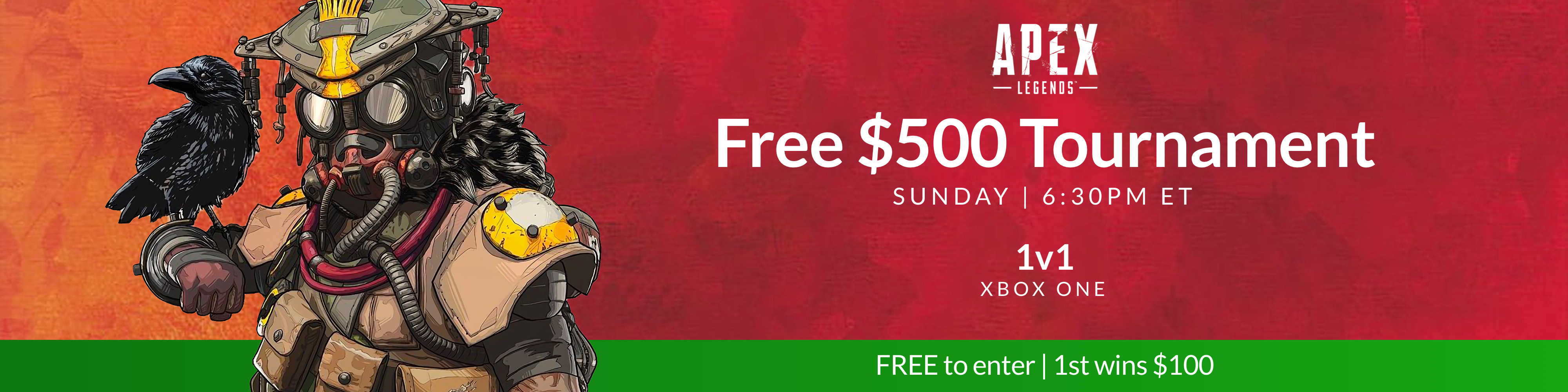 Players' Lounge - Sunday $500 Apex Free Tournament