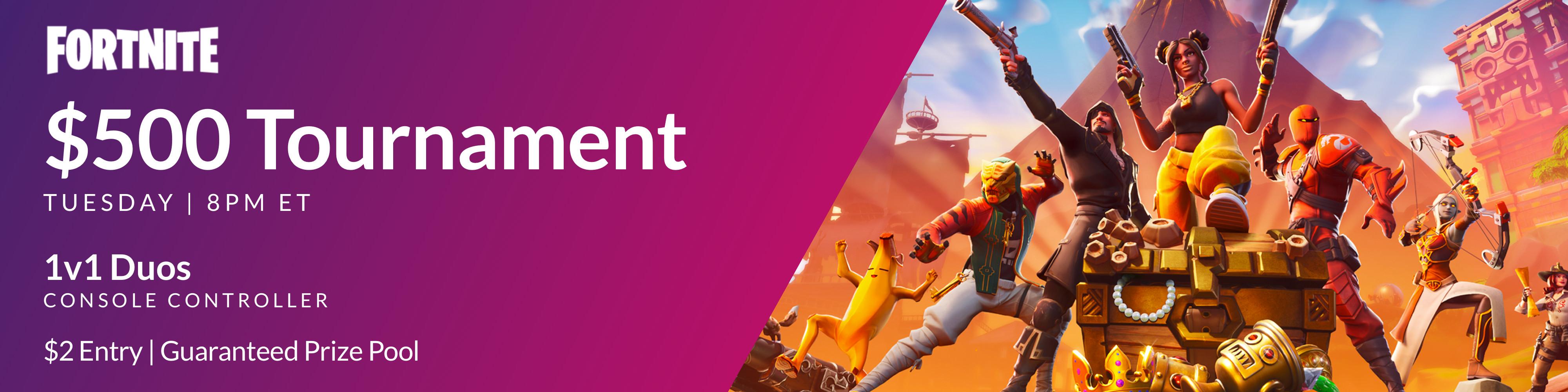 Players' Lounge - Tuesday $500 Fortnite Tournament