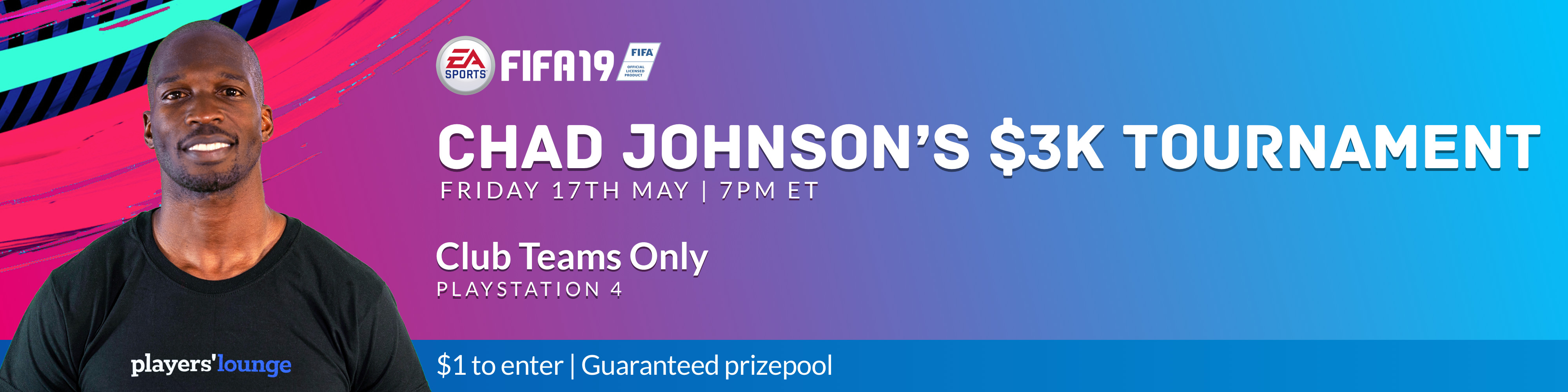 Players' Lounge - Chad Johnson's $3K FIFA Tournament